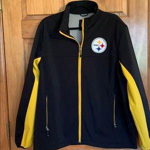 Steelers NFL Soft Shell Coat L